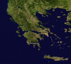 Iklaina Map